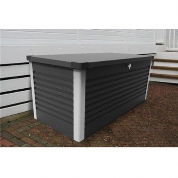 Trimetals SMALL PATIO STORAGE BOX GREY